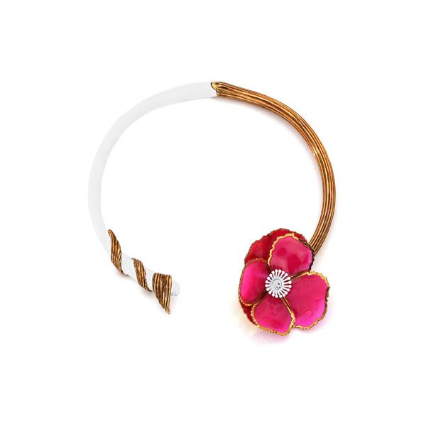 单品推荐:FENDI 2019春夏时尚珠宝系列饰品 价格店询(图片来源于品牌)