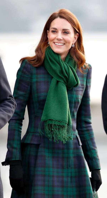 英国凯特王妃(图片来源于MSN)