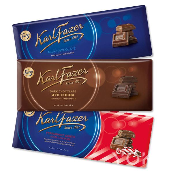 芬兰特色巧克力Fazer 图片来自品牌