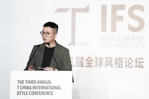《T》中文版主编,栩栩华生媒体集团总编辑 冯楚轩先生