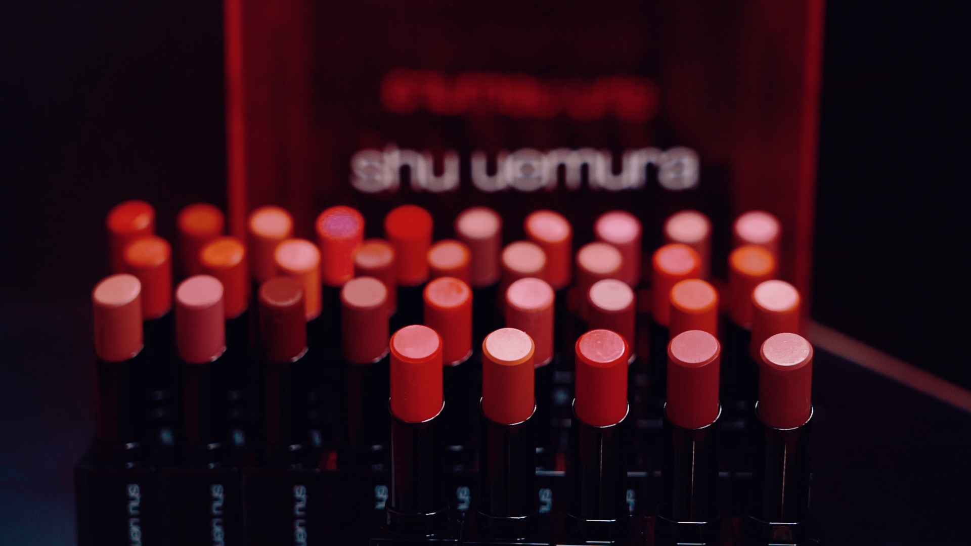 一口气推出153个色号口红,厉害了植村秀!