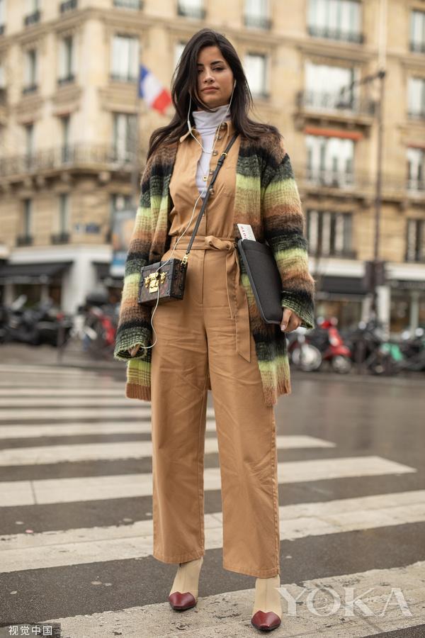时尚潮人街拍(图片来自视觉中国)