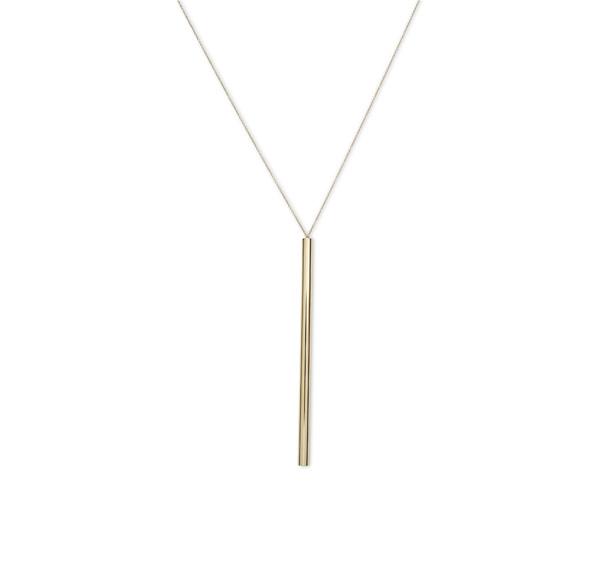 Valextra Flute系列珠宝,项链,18K金 由Michael Anastassiades设计