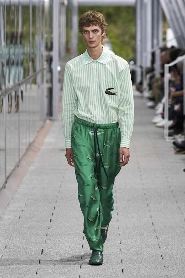 LACOSTE 2020春夏巴黎时装周秀款胶囊系列正式上巿