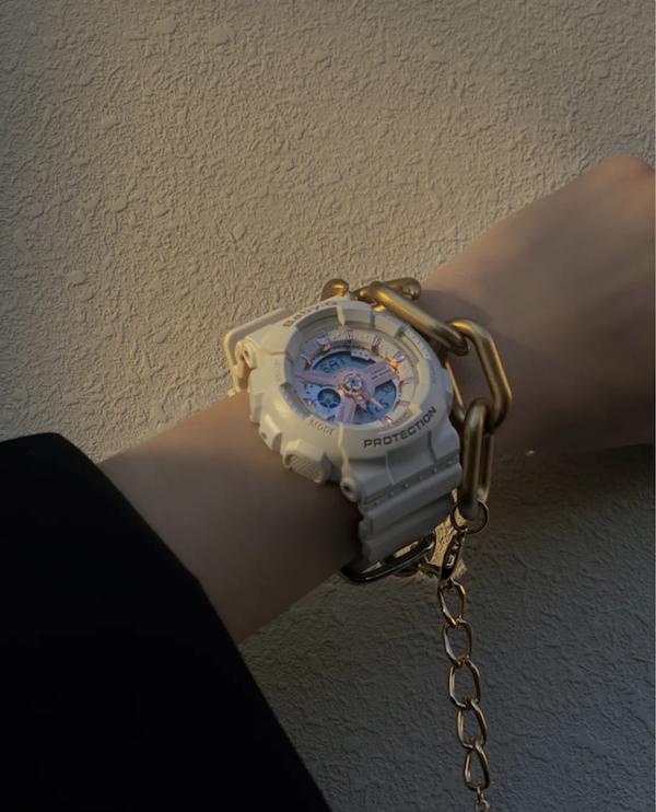 CASIO BABY-G系列腕表(型号:BA-110RG-7A) 图片来源:小红书@韩好甜