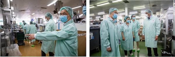 中国驻法大使卢沙野到访皮尔法伯集团工厂