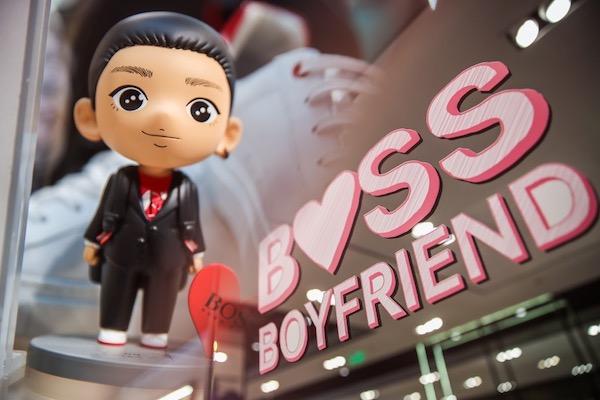 BOSS开启七夕品牌活动 全球代言人李易峰首次亮相