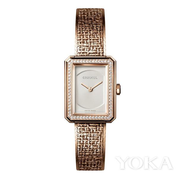 秋天,潮人们最爱的暖金色珠宝腕表!