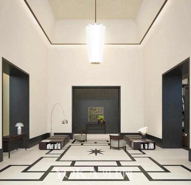 上海宝格丽公寓大堂