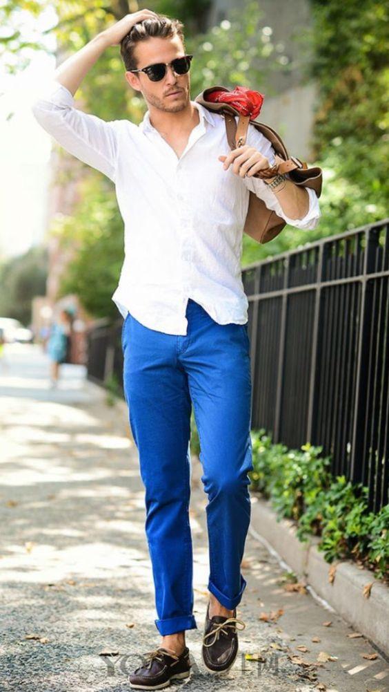 蓝白CP人气居高不下 整个夏天我就只想穿它们