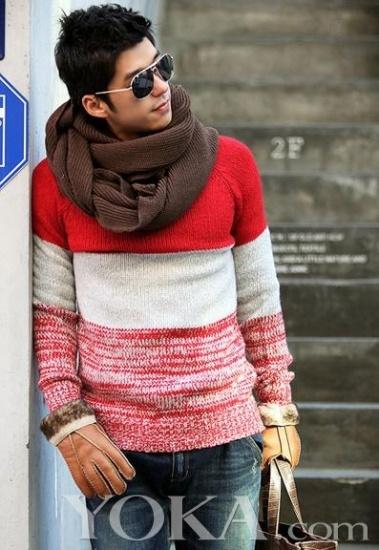 韩国围巾系法图解